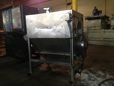 Scholz Industries Model 441050 Rotary Screen Separator Used In Good Condition