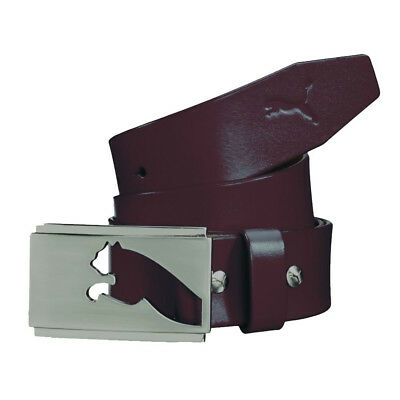 New PUMA Golf Highlight Fitted Belt Polished Metal Buckle - Pick Size & Color
