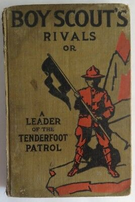 1913 Boy Scouts Rivals Leader Of The Tenderfoot Book - With Damage   (Inv2714)