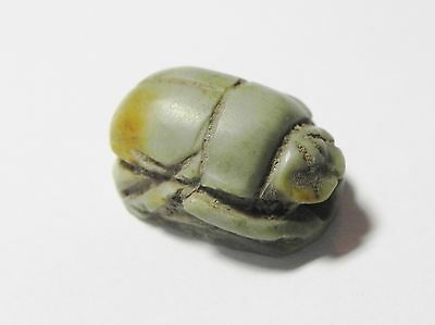Zurqieh - Q316- Ancient Egypt, New Kingdom. Stone Scarab. 1400 B.c
