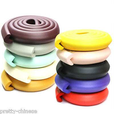 2m Baby Safety Child Desk Glass Table Edge Protector Cover Roll Soft Foam Bumper