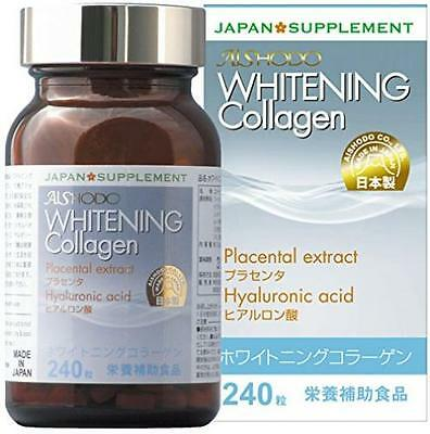 Whitening Collagen 240 grain Placenta / hyaluronic acid royal jelly supplements