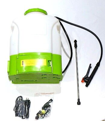 4.5 Gallon Cordless Variable Speed Battery Powered Backpack Garden Lawn Sprayer