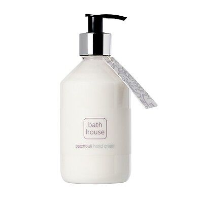 Brand New Patchouli Hand Lotion Pump From The Bath House 325Ml Made In Cumbria