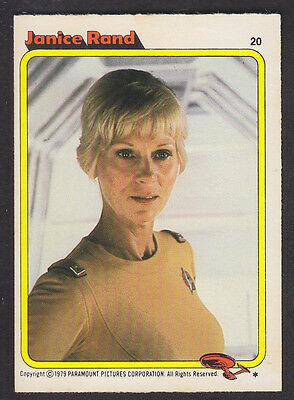 Topps - Star Trek - The Motion Picture 1980 - # 20 Janice Rand