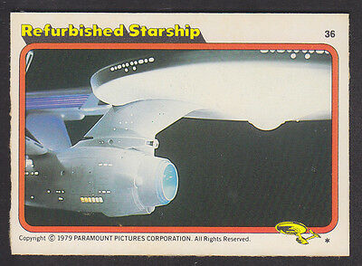 Topps - Star Trek - The Motion Picture 1980 - # 36 Refurbished Starship