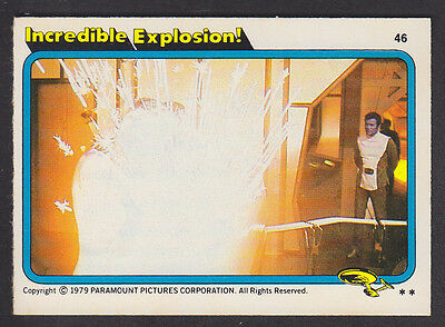 Topps - Star Trek - The Motion Picture 1980 - # 46 Incredible Explosion!