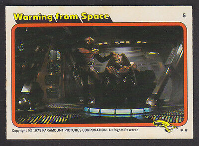 Topps - Star Trek - The Motion Picture 1980 - # 5 Warning From Space