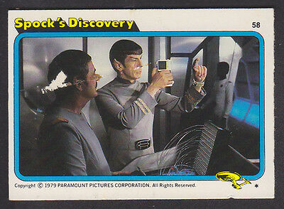 Topps - Star Trek - The Motion Picture 1980 - # 58 Spock's Discovery