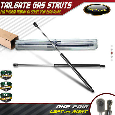 2x Tailgate Rear Boot Gas Struts Supports for Hyundai Tiburon Coupe 2001-2008