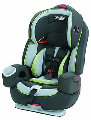 Graco Nautilus 80 Elite BOOSTER SEAT, 3 In 1 Harness TODDLER CAR SEAT, Go Green
