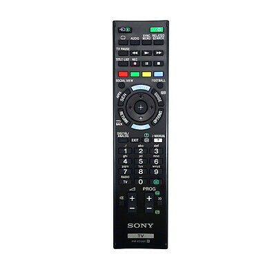 *NEW* Genuine Sony TV Remote Control - Replaces Obsolete RM-ED052