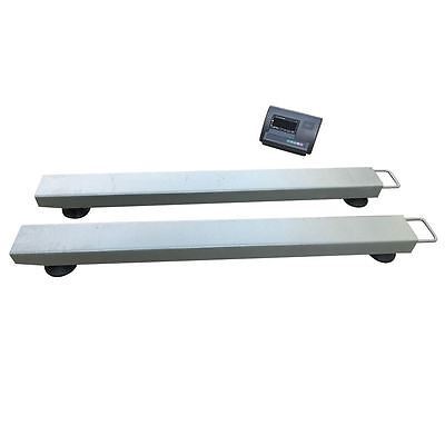 Industrial Beam Scales Pallet Weighing Cattle Crush Scale Heavy Duty Weigh