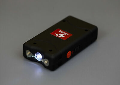 Max Power 10 Million Volt Rechargeable Self Defense Stun Gun LED Light