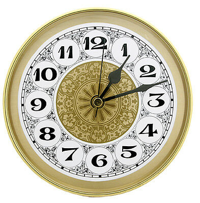 """NEW 5-7/8"""" Complete Clock Insert or Fit-Up Movement - Choose from 4 Styles!!"""
