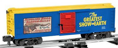 Lionel Train S Scale 6-48399 American Flyer Ringling Bros.Circus Box Car NIB