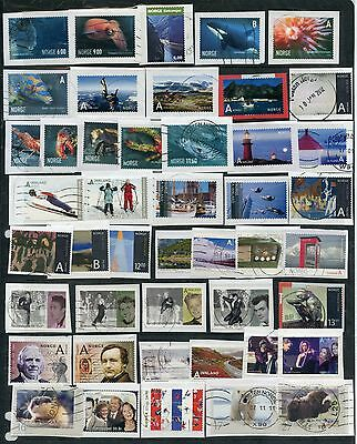 Weeda Norway 2004-2010 period used collection, hard to find recent items CV $86+