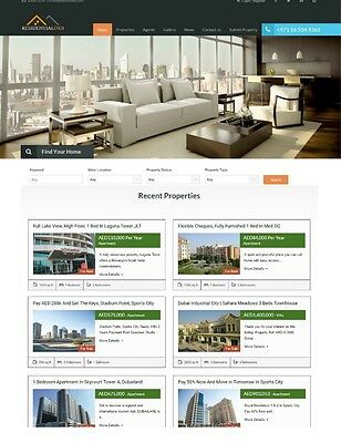 Awesome Real Estate Wordpress Theme. Must Have!