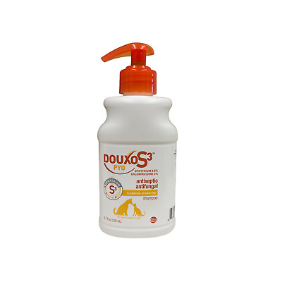 Sogeval Douxo Chlorhexidine PS Pet Shampoo with Climbazole Made in USA