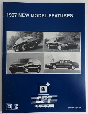 1997 New Model Features Gm Service Know How Manual   (Inv1858)