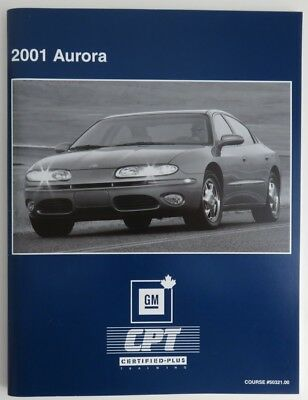2001 Aurora Gm Service Know How Manual   (Inv1856)