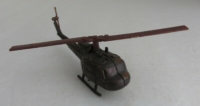 Vintage Made In Hong Kong Diecast Helicopter Pencil Sharpener    (Inv5450)