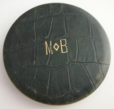 LEATHER MoB MAKE-UP COMPACT