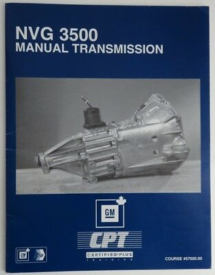 Nvg 3500 Manual Transmission Gm Service Know How Manual   (Inv1871)
