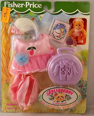 1998 Fisher Price Briarberry Wear Collection Ballerina Wear Dress-up #71757