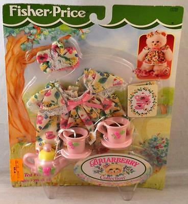 1998 Fisher Price Briarberry Wear Collection Tea Party Set #71755