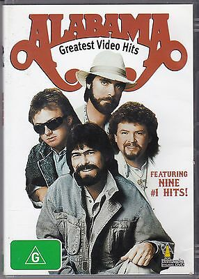 Alabama - Greatest Video Hits - Featuring 9 #1 Hits - Dvd
