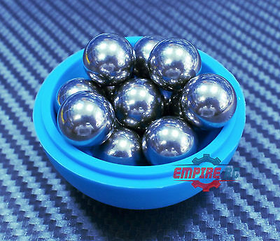 Loose Bearing Ball SS201 Stainless Steel Bearings Balls G100 9mm QTY 10