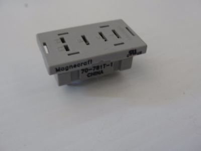 New Magnecraft Struthers-Dunn Relay Base, 70-781T-1, (LOT OF 75) $1.00 ea base