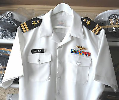 Us Navy Officers Authentic Cnt Dress Shirt Ready For Fancy Dress (Us4)