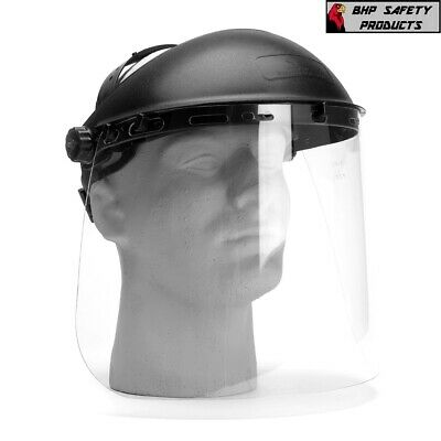 Pyramex S1040 Clear Polycarbonate Safety Face Shield Ansi Z87.1 (1 Each)
