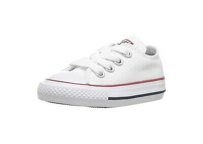 CONVERSE All Star Low Shoes Optical White Baby Toddler Girls Sneakers 7J256