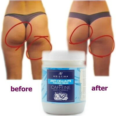 Slimming Anti Cellulite Cream CAFFEINE w/ Vit E Full Body Shape Up 200 ml
