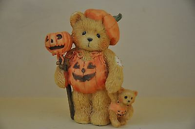 "Cherished Teddies Breanna ""Pumpkin Patch Pals"" Figurine"