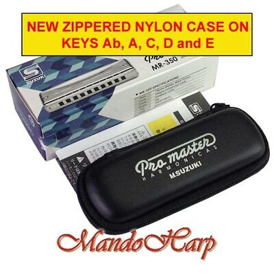 Suzuki Harmonica - MR-350 Promaster (SELECT KEY) NEW