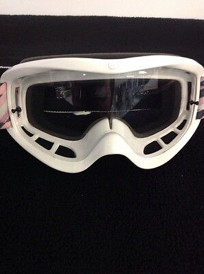 Von Zipper VZ Sizzle Goggles Pink And White Motocross Adult Dirt Bike