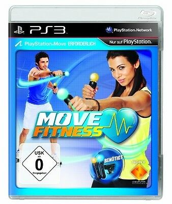 PS3 / Sony Playstation 3 - Move: Fitness (benötigt Move) (DEUTSCH) (mit OVP)