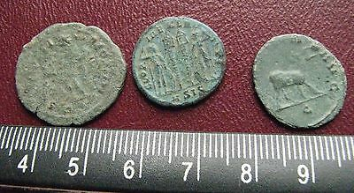 """Authetic Ancient Roman Coins > Lot of 3 """"HIGHEST"""" Quality Coins  GB 34"""