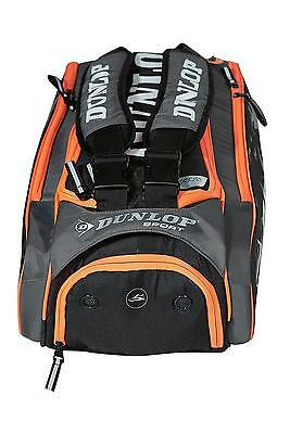 Dunlop Performance Squash Sports Racquet Storage Holdall 8 Racket Bag Luggage
