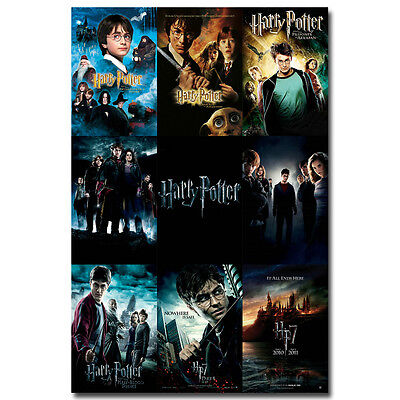 Harry Potter and the Deathly Hallows Movie Silk Poster 12x18 24x36 inch