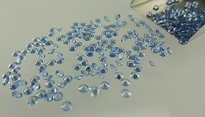 Aquamarine Spinel Round Brilliant Cut 2.60mm Loose HIGH QUALITY Gemstones LOT