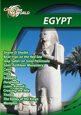 Cities of the World - Egypt Africa - Travel DVD