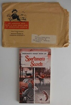1952 Hodgman's Handy Book Of Sportsmen's Secrets