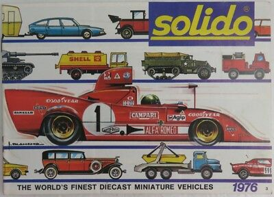 1976 Solido Toy Catalog               (Inv8912)