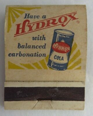 Hydrox Cola Lion Match Co. Matchbook Cover    (Inv2444)