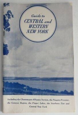 Vintage Guide To Central And Western New York - 77 Pages  (Inv1099)